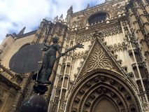 Kathedrale Sevilla Stockfotos