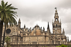 Kathedrale. Sevilla. Spanien. Stockfotos