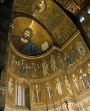 Kathedrale Sizilien-Monreale   Stockbilder