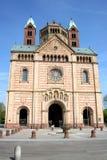 Kathedrale in Speyer stockfotografie
