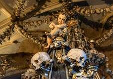 Kathedrale St. Barbaras, Kutna Hora Stockfotografie