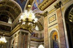 Kathedrale St. Isaacs Stockbild