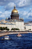Kathedrale St Isaacs, St Petersburg Stockfotografie