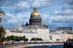 Kathedrale St Isaacs, St Petersburg Stockfotos