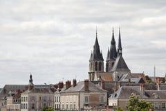 Kathedrale St. Louis Blois Frankreich Lizenzfreies Stockfoto