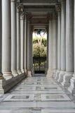 Kathedrale St Paul aus den Wänden Rom heraus Stockfotografie