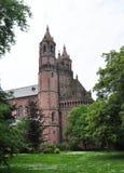Kathedrale St Peter in den Würmern, Deutschland lizenzfreies stockbild
