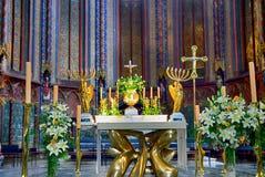 Kathedrale St Sauveur, Aix-en-Provence, Frankreich Lizenzfreies Stockbild