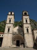 Kathedrale St. Tryphon, Kotor Stockfotos