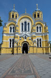 Kathedrale St. Vladimirs in Kiew Lizenzfreies Stockfoto