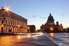 Kathedrale Str.-Isaac, St Petersburg lizenzfreie stockbilder