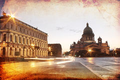 Kathedrale Str.-Isaac, St Petersburg, Russland Stockfoto