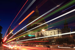 Kathedrale Str.-Paulâs nachts Lizenzfreie Stockfotografie