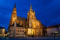 Kathedrale Str.-Vitus Stockbild