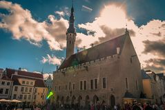 Kathedrale in Tallin Stockfoto