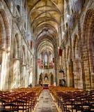 Kathedrale: Tréguier, Bretagne Lizenzfreies Stockfoto