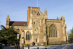 Kathedrale und Abbey Church des Heiligen Alban, Großbritannien Stockfotos