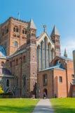 Kathedrale und Abbey Church des Heiligen Alban in StAlbans England u Stockbilder