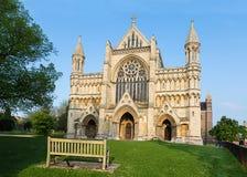 Kathedrale und Abbey Church des Heiligen Alban StAlbans, Großbritannien Stockfoto