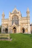 Kathedrale und Abbey Church des Heiligen Alban StAlbans, Großbritannien Stockbilder