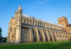 Kathedrale und Abbey Church Saint Alban StAlbans Stockfoto