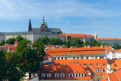 Kathedrale- und Prag-Schloss Str.-Vitus Lizenzfreie Stockfotos