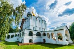Kathedrale unserer Dame von Smolensk Stockfotos