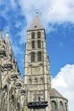 Kathedrale unserer Dame von Tournai in Belgien stockfoto