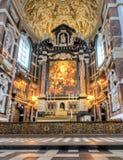 Kathedrale unseres Dameninnenraums, Antwerpen, Belgien lizenzfreie stockbilder