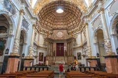 Kathedrale in Valencia, Spanien Stockbild