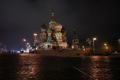 Kathedrale Vasily Blazhennogo Lizenzfreie Stockfotos