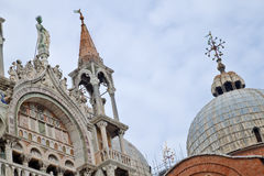 Kathedrale Venedig Basilica di San Marco St Mark s Lizenzfreie Stockfotos