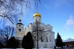 Kathedrale von Überziehschutzanlage Boris und Gleb in Dmitrov Stockfotos