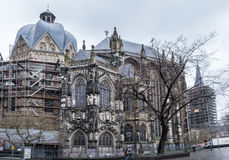 Kathedrale von Aachen Stockbild