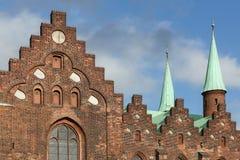 Kathedrale von Aarhus Stockfoto