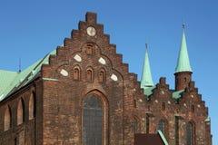 Kathedrale von Aarhus, Dänemark Stockbild