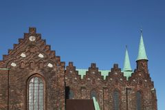 Kathedrale von Aarhus, Dänemark Lizenzfreie Stockfotografie