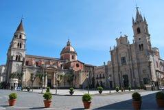 Kathedrale von Acireale - Sizilien Lizenzfreies Stockbild