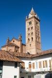 Kathedrale von alba (Cuneo, Italien) Lizenzfreies Stockbild