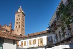 Kathedrale von alba (Cuneo, Italien) Stockfotografie