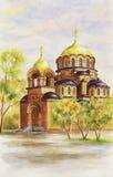 Kathedrale von Alexander Nevskij Stockfotos