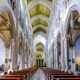 Kathedrale von Almudena-Innenraum Stockfotografie