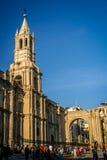 Kathedrale von Arequipa Stockfotografie