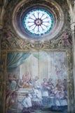 Kathedrale von Asti, Innen Stockbilder