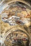 Kathedrale von Asti, Innen Stockbild