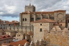 Kathedrale von Avila Lizenzfreie Stockfotografie