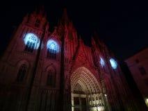 Kathedrale von Barcelona Lizenzfreies Stockbild