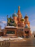 Kathedrale von Basilikumgesegnet Lizenzfreies Stockfoto