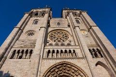 Kathedrale von Blois, von Loir und von Cher Lizenzfreie Stockfotografie