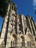 Kathedrale von Bourges, Frankreich lizenzfreies stockbild